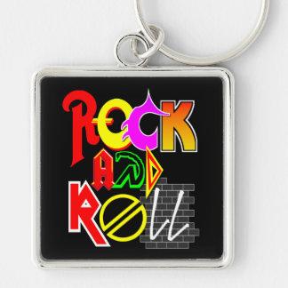 Chaveiro do rock and roll (preto)