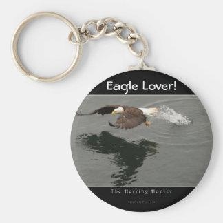 Chaveiro dos animais selvagens da águia americana
