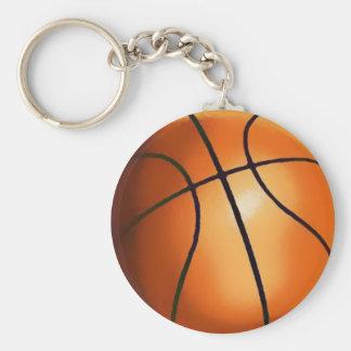 Chaveiro dos trabalhos de arte do basquetebol