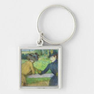 Chaveiro Edgar Degas | duas mulheres que inclinam-se em uma