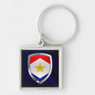 Chaveiro Emblema metálico de Saba