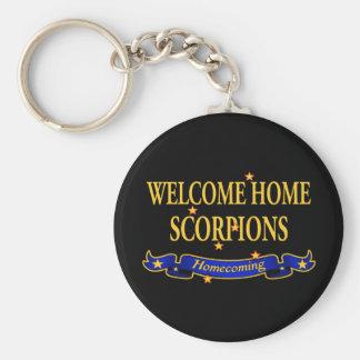 Chaveiro Escorpião Home bem-vindos