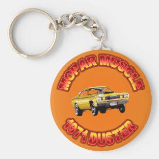 Chaveiro Espanador 1971 de Plymouth Keychain.