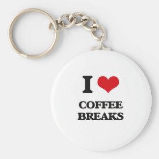 Chaveiro Eu amo rupturas de café