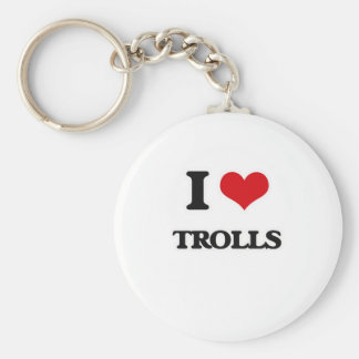 Chaveiro Eu amo troll