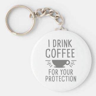Chaveiro Eu bebo o café