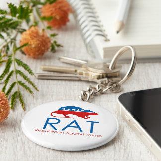 Chaveiro Eu sou um R.A.T: Republicano contra o trunfo