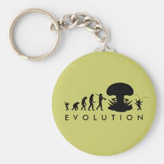 Chaveiro Evolução da carta engraçada da evolução do homem &