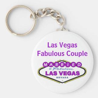Chaveiro fabuloso do casal de Las Vegas