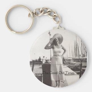 Chaveiro Foto preto e branco os anos 30 de Cannes do