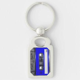 Chaveiro Gaveta azul da etiqueta