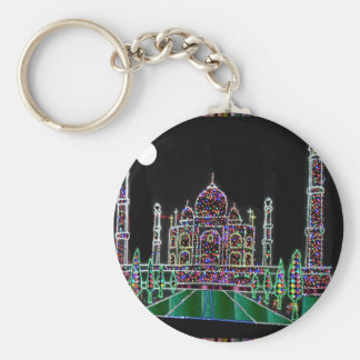 Chaveiro Herança da arquitetura de TAJ Mahal Moghul que