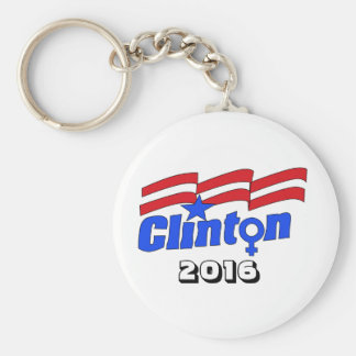 Chaveiro Hillary Clinton + Símbolo fêmea