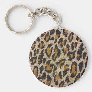 Chaveiro Impressão do leopardo