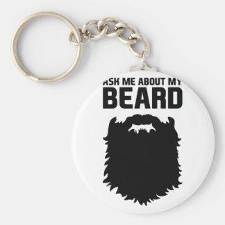 Chaveiro Inquira sobre minha barba