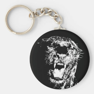 Chaveiro Jaguar - pantera preta