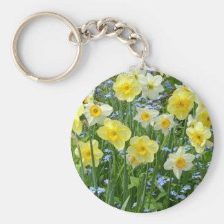 Chaveiro Jardim amarelo bonito do daffodil