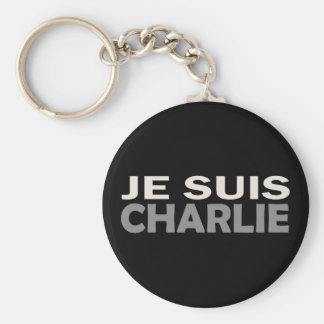 Chaveiro Je Suis Charlie