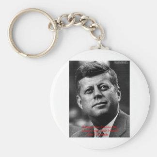 """Chaveiro JFK """"perdoam para não esquecer"""" presentes & cartão"""