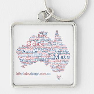 Chaveiro Keyring australiano do calão da edição especial