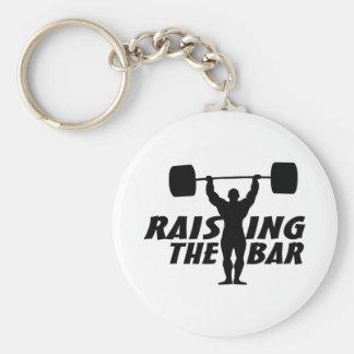 Chaveiro Levantando o bar