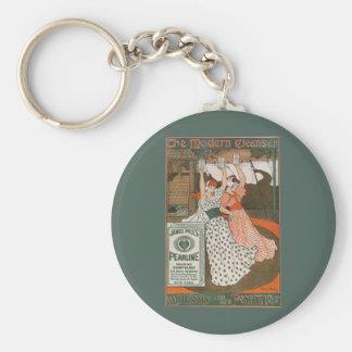 Chaveiro Limpador moderno de Pearline da arte da etiqueta