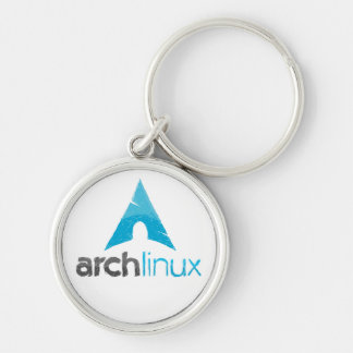 Chaveiro Logotipo de Linux do arco