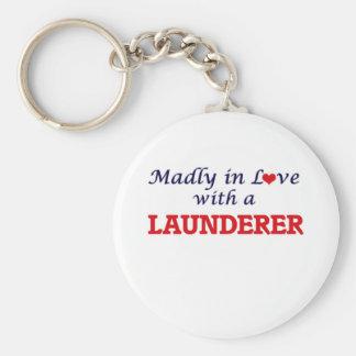 Chaveiro Louca no amor com um Launderer