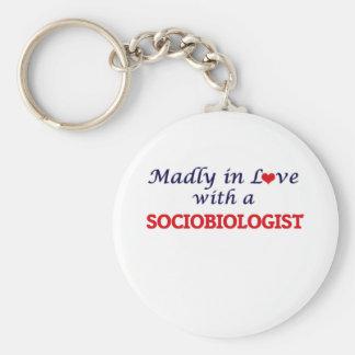 Chaveiro Louca no amor com um Sociobiologist