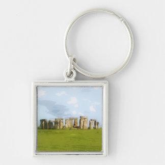 Chaveiro Monumento de pedra do círculo de Stonehenge
