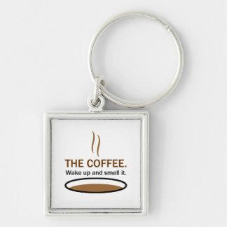 Chaveiro O café. Cheire-o