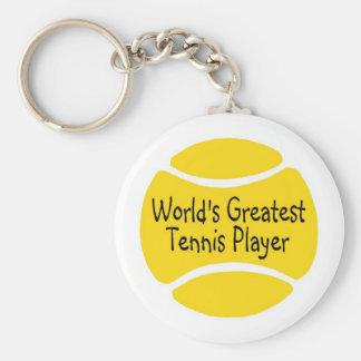 Chaveiro O grande jogador de ténis dos mundos