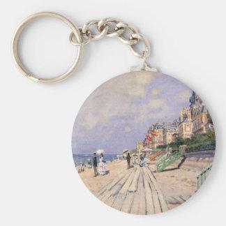 Chaveiro O passeio à beira mar em Trouville Claude Monet