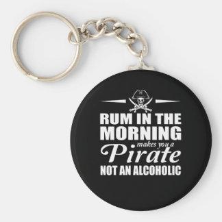 Chaveiro O rum na manhã fá-lo piratear nao alcoólico