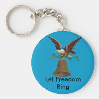 Chaveiro O vintage deixou o anel da liberdade