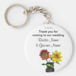 Chaveiro Ofertas das lembranças das lembranças do casamento