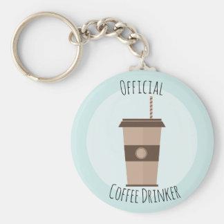 Chaveiro oficial do bebedor do café