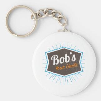 Chaveiro Piada do tio Engraçado Homem Named Bob de Bob sua