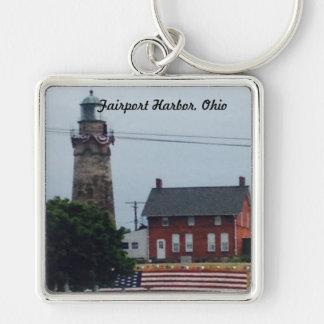 Chaveiro Porto de Fairport, Ohio 4o da corrente chave da