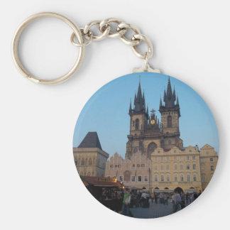 Chaveiro Praça da cidade velha da república checa de Praga