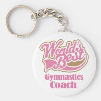 Chaveiro Presente do treinador da ginástica