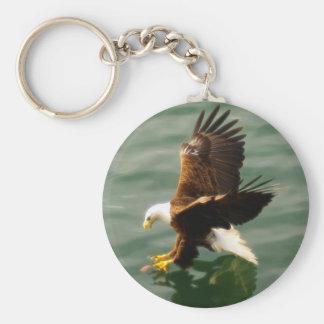 Chaveiro Presente inspirador dos animais selvagens da águia