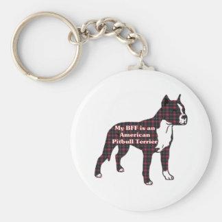 Chaveiro Presentes americanos de Terrier de pitbull