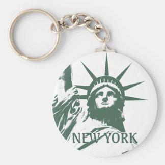 Chaveiro Presentes da liberdade da lembrança de New York da