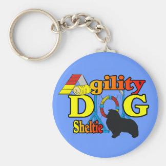 Chaveiro Presentes do Sheepdog de Shetland da agilidade de