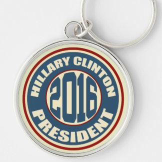 Chaveiro Presidente 2016 de Hillary Clinton