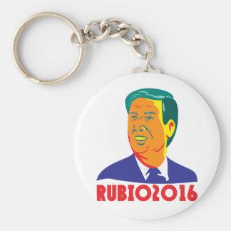 Chaveiro Presidente 2016 retro republicano de Marco Rubio