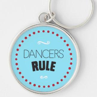 Chaveiro Regra dos dançarinos - azul