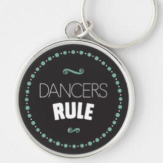 Chaveiro Regra dos dançarinos - preto