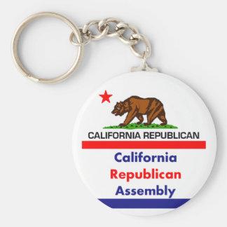 Chaveiro Republicano CRA de Califórnia